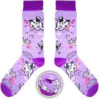 Cup Of Sox Piękna Bestia Science Fishion Socks E