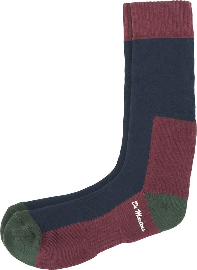 Dr. Martens Sock Navy Green 004 AC237004
