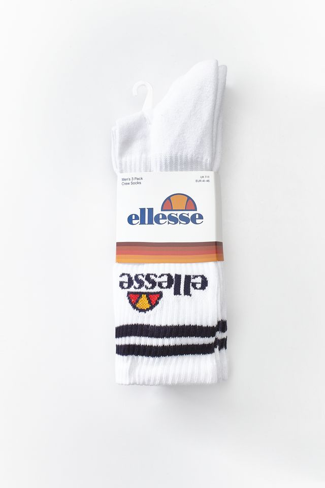 Skarpety 3Pack Ellesse  <br/><small>PULLO WHITE </small>  SAAY0620