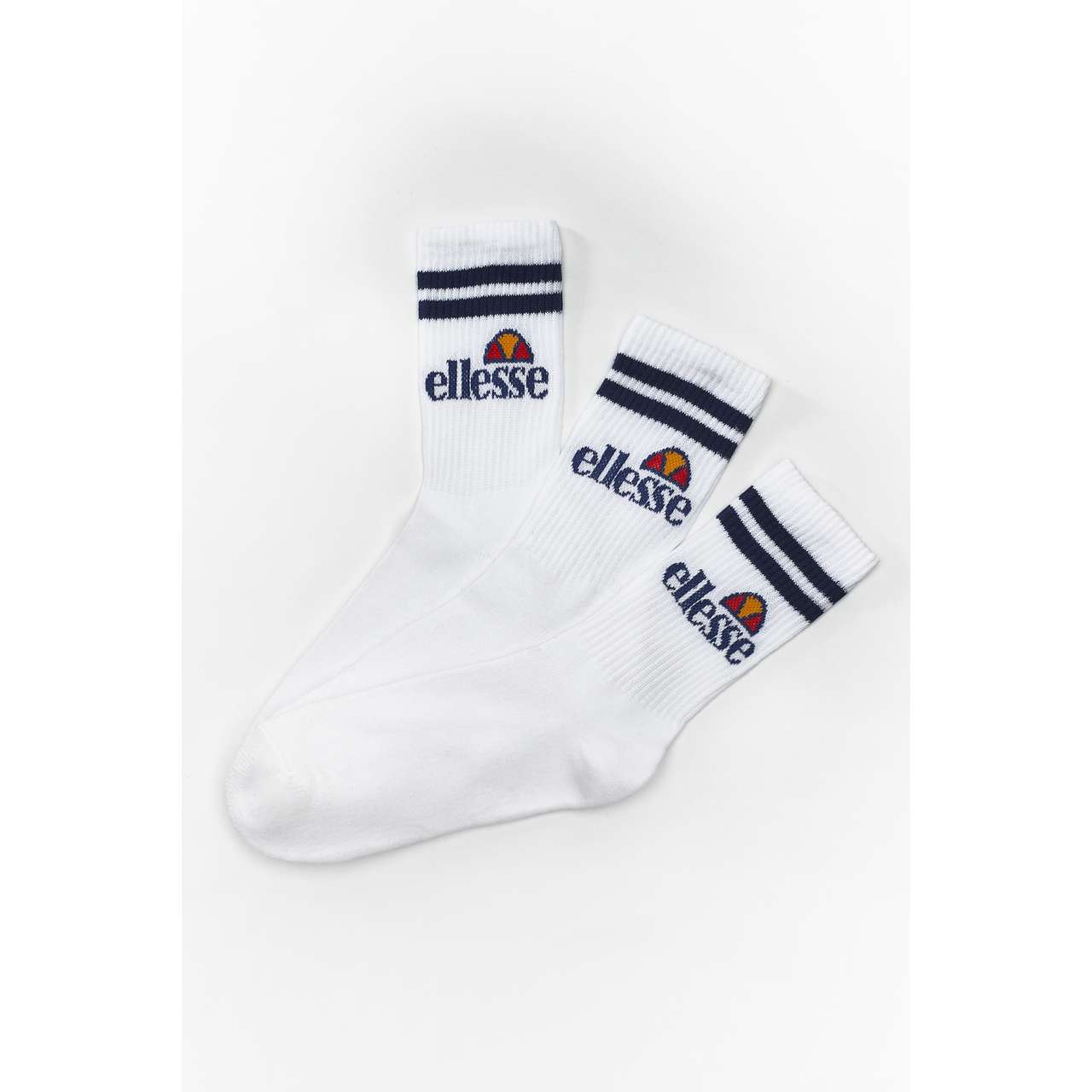 Skarpety 3Pack Ellesse  <br/><small>PULLO WHITE </small>  SGAY0620