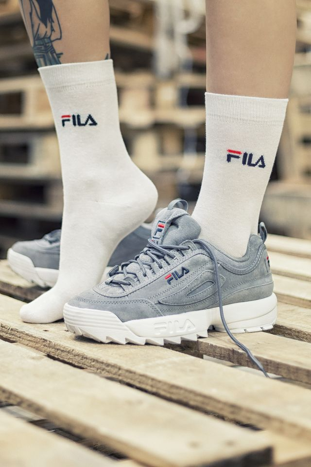 Fila 3Pack  NORMAL SOCKS 3 PAIRS 300 WHITE F9630-300