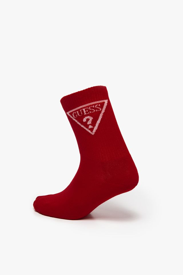 RED REGULAR SOCKS 00I