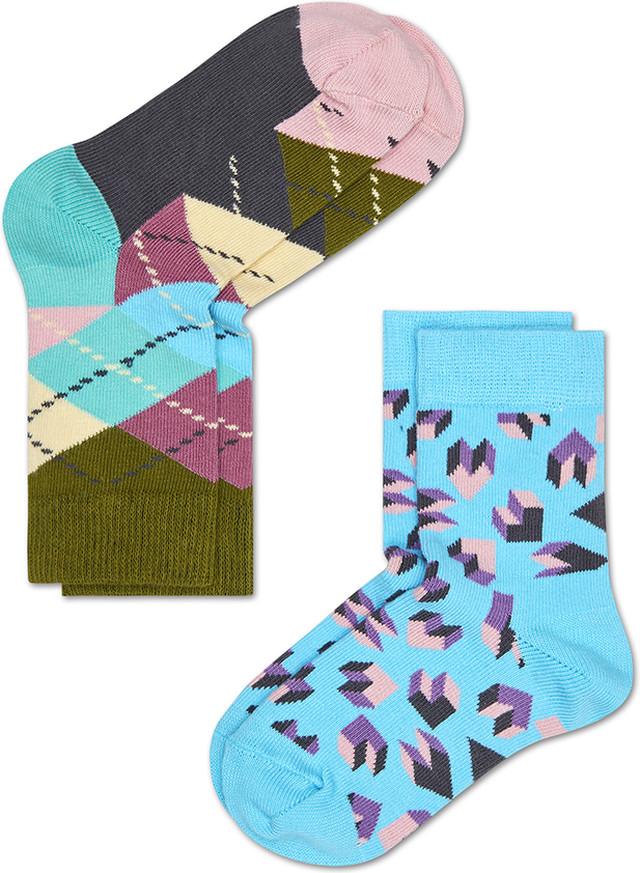 Happy Socks 2-Pack Argyle Socks KARY02-7000 4366