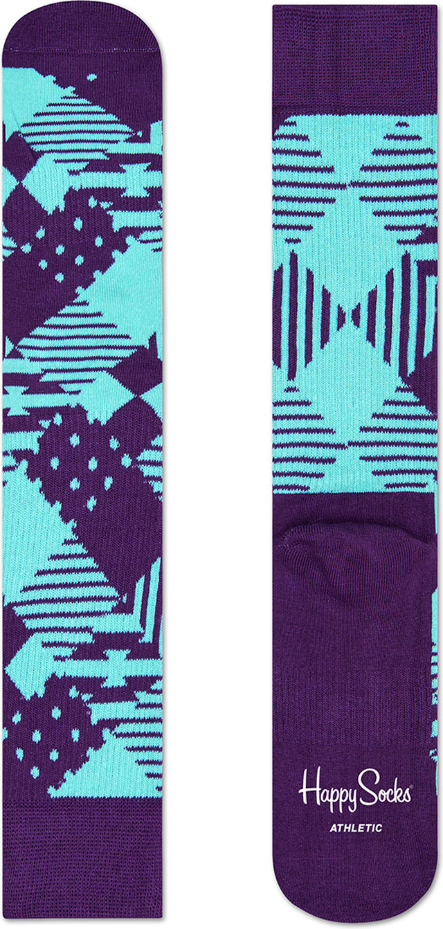 Happy Socks Athletic Argyle Sock ATMA27-505 2384