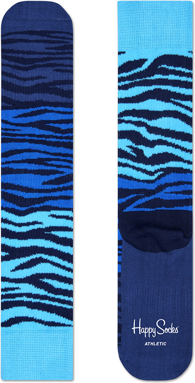 Happy Socks Athletic Block Zebra Sock ATBZ27-065 2374