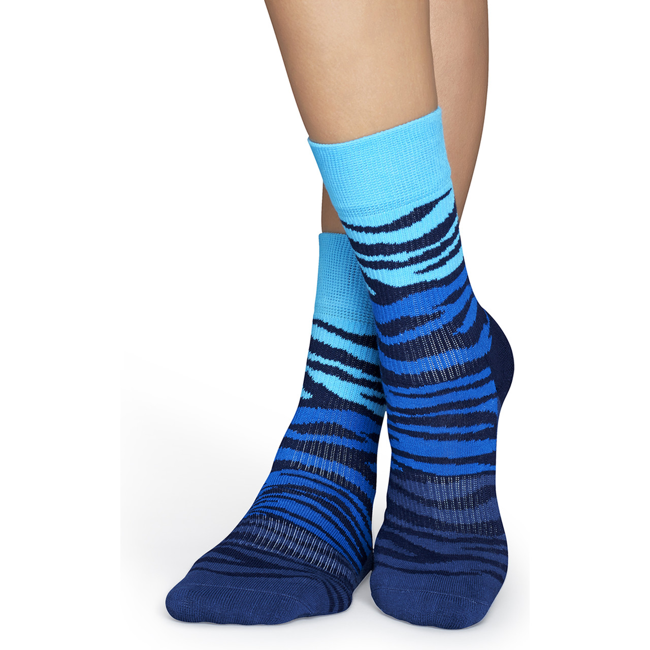 Skarpety Happy Socks  <br/><small>Athletic Block Zebra Sock ATBZ27-065 </small>  2374