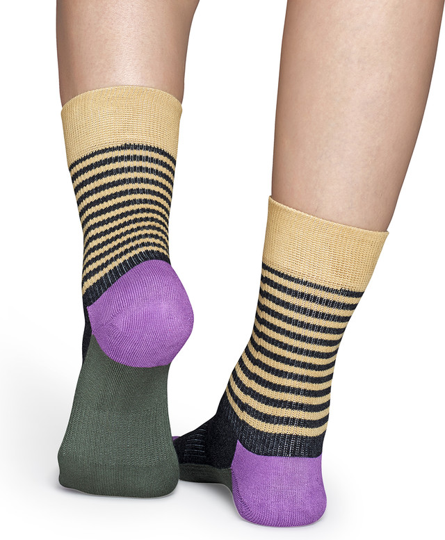 Skarpety Happy Socks  <br/><small>Athletic Half Stripe Sock ATSH27-081 </small>  2398