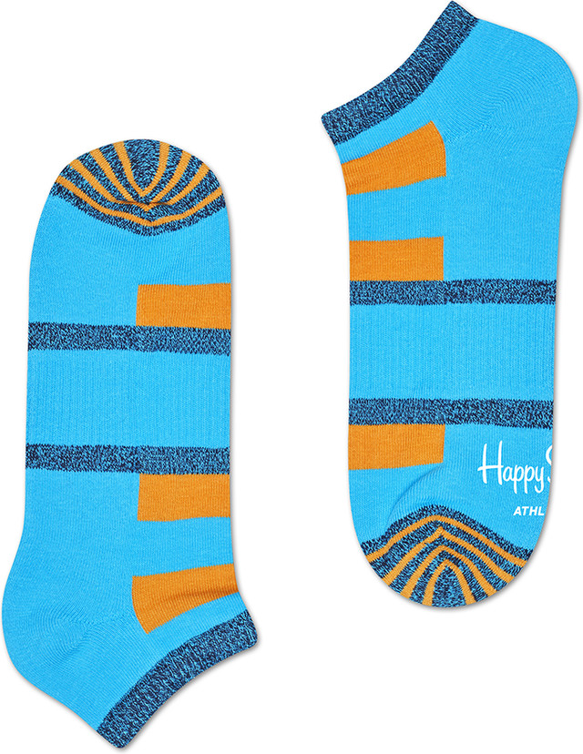 Happy Socks Athletic Stripe Low Sock ATSTR05-6000 3370