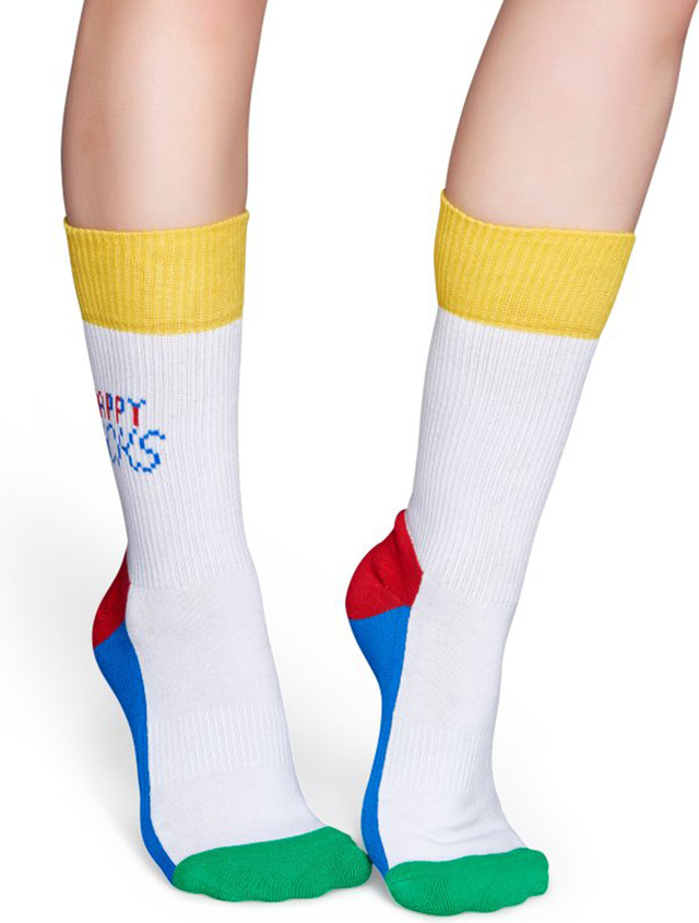 Skarpety Happy Socks  <br/><small>Athletic Tennis Sock ATTES27-1000 </small>  3357