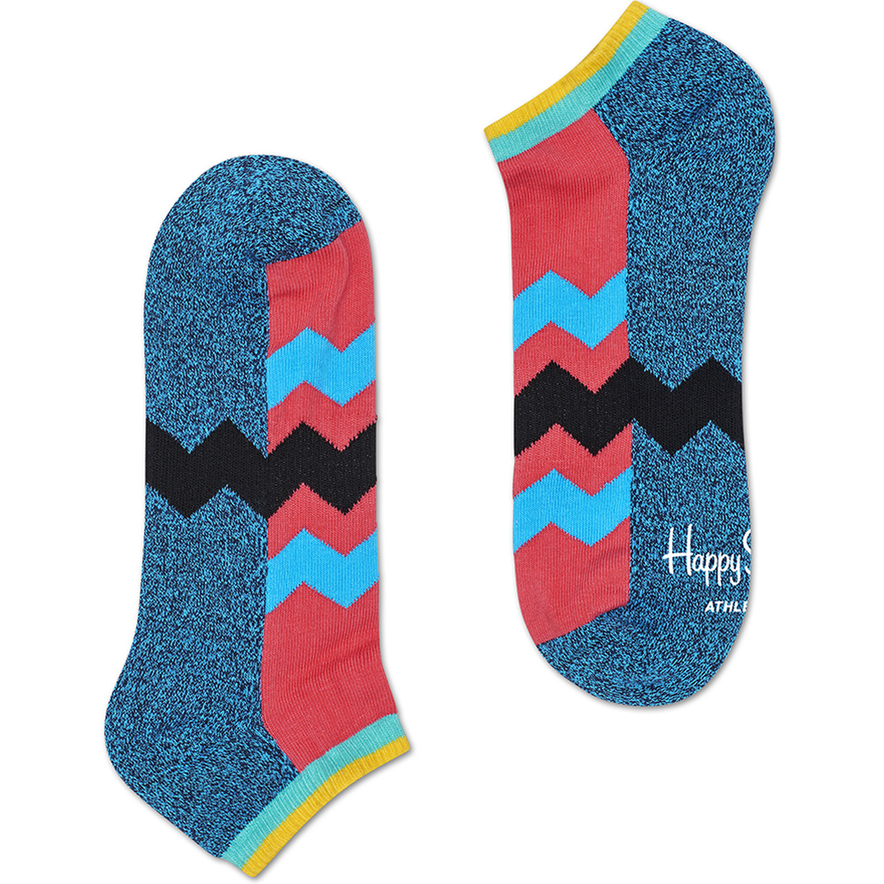 Skarpety Happy Socks  <br/><small>Athletic Zig Stripe Low Sock ATZST05-6000 </small>  3370