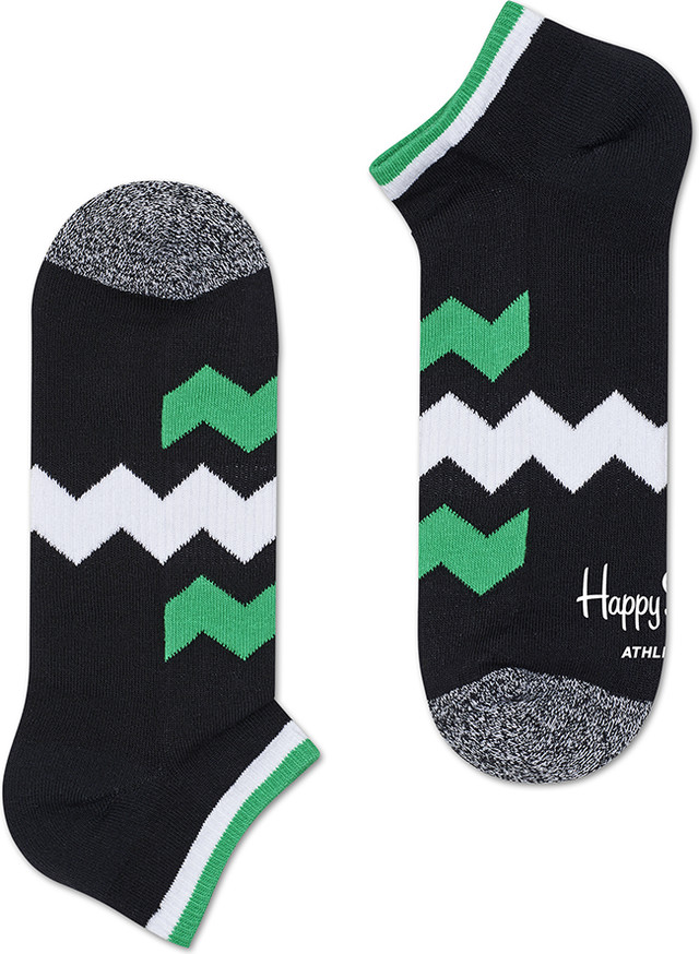Happy Socks Athletic Zig Stripe Low Sock ATZST05-9000 3370