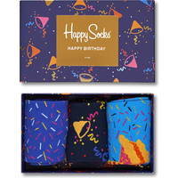 Skarpety Happy Socks BIRTHDAY GIFT BOX 3PACK XBDA08-6000