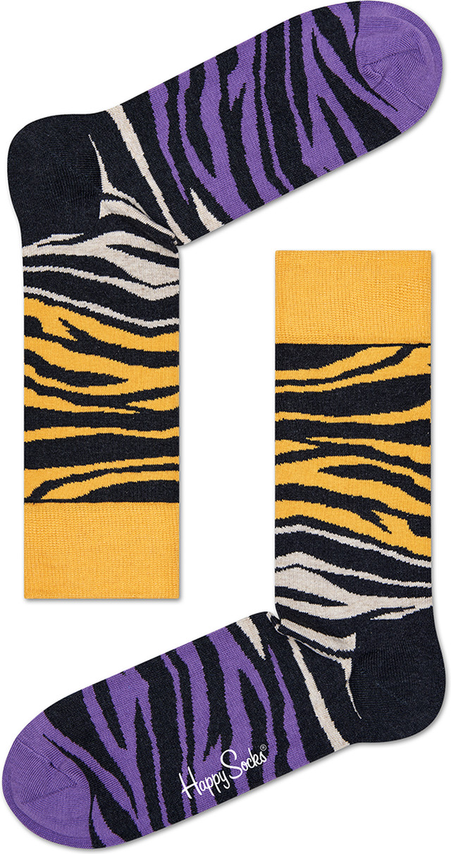 Happy Socks BLOCK ZEBRA SOCK BZ01-029 2440