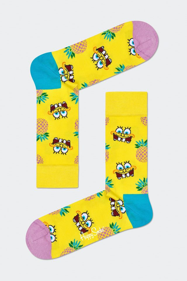 Happy Socks SPONGE BOB FINEAPPLE SURPRISE 2300 BOB01-2300