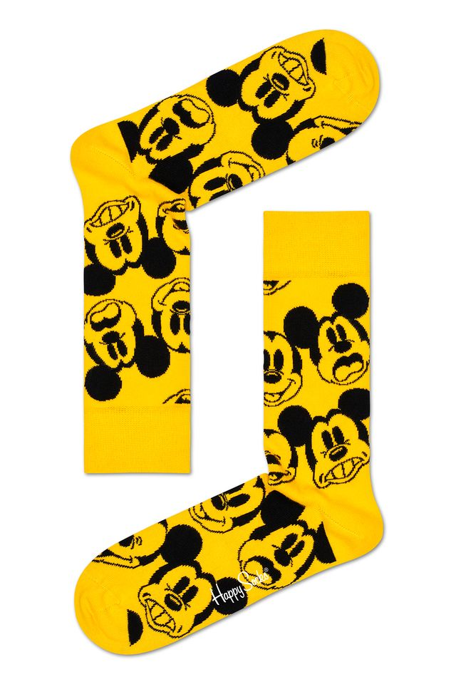 COLORFUL SKARPETY Disney Face It Mickey DNY01-2200