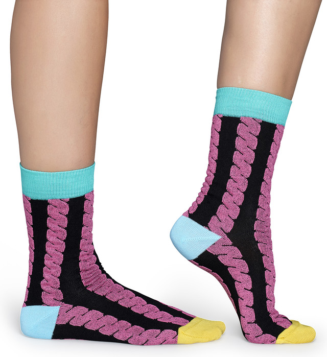 Skarpety Happy Socks  <br/><small>Embossed Cable Sock SC30-099 </small>  2781