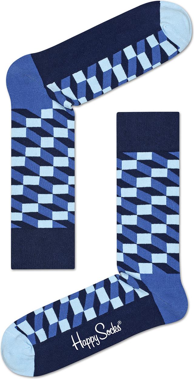 Happy Socks Filled Optic Sock FIO01-6000 4279
