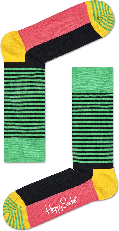 Happy Socks Half Stripe Sock HAS01-9001 4353