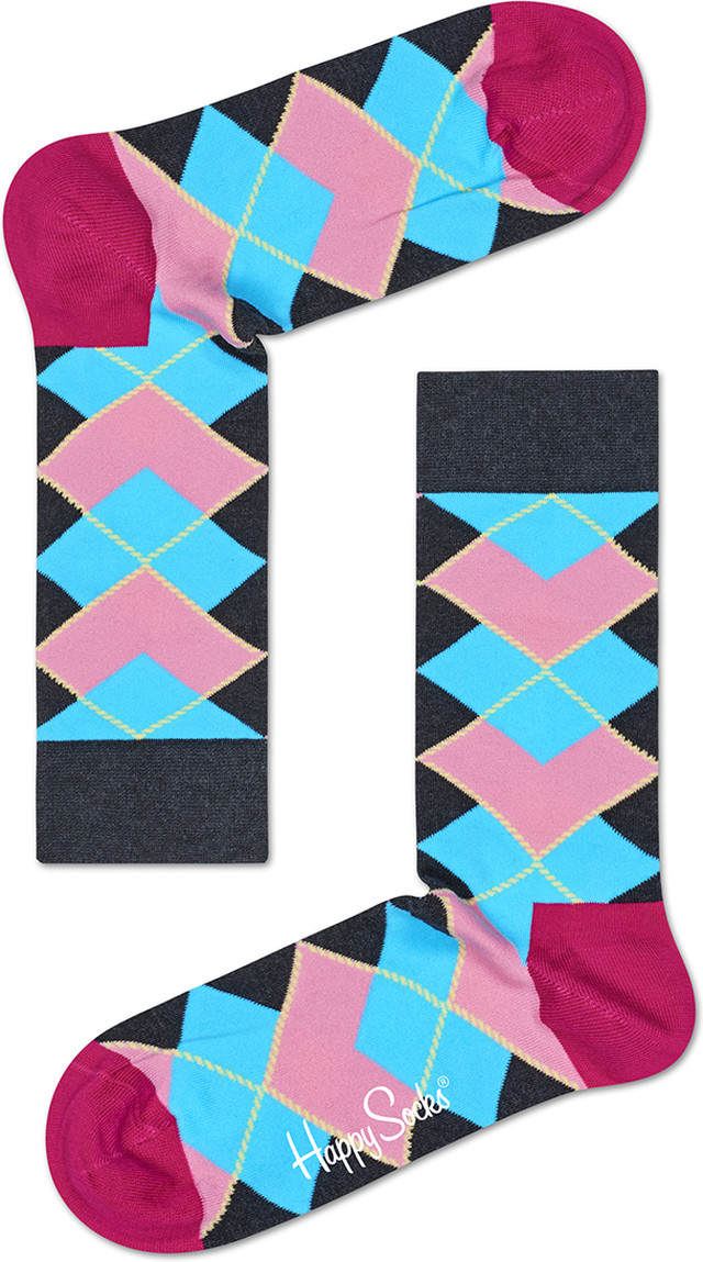 Happy Socks Iris Apfel Argyle Sock IRARY01-9000 3081