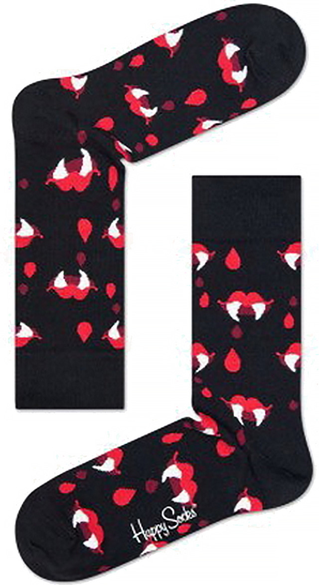 Skarpety Happy Socks  <br/><small>Robert Rodriguez Fangs & Blood RRFB01-9000 </small>  3066