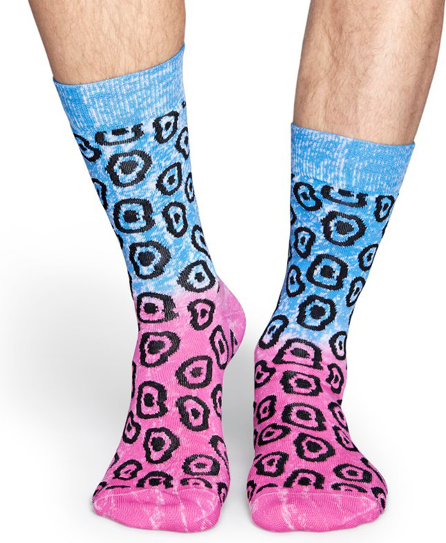 Skarpety Happy Socks  <br/><small>Special Special Spacedyed Blob Sock SBG37-6000 </small>  3806