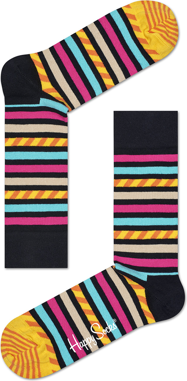 Happy Socks Stripe & Stripe Sock SAS01-9000 4736