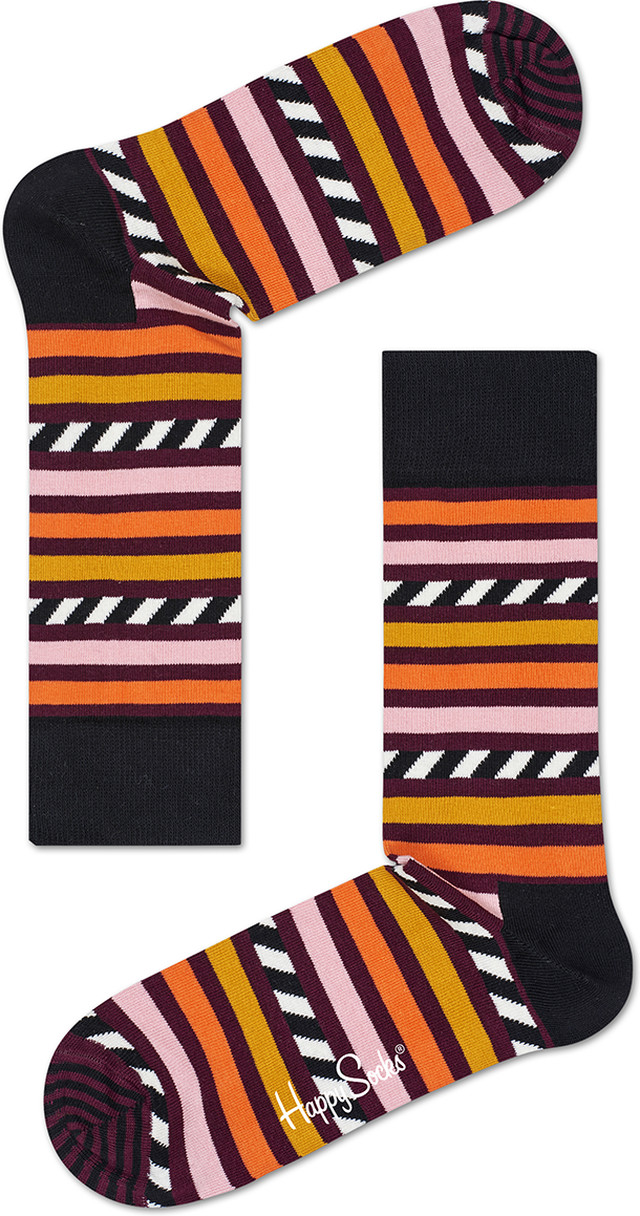 Happy Socks Stripes & Stripes Socks SAS01-4000
