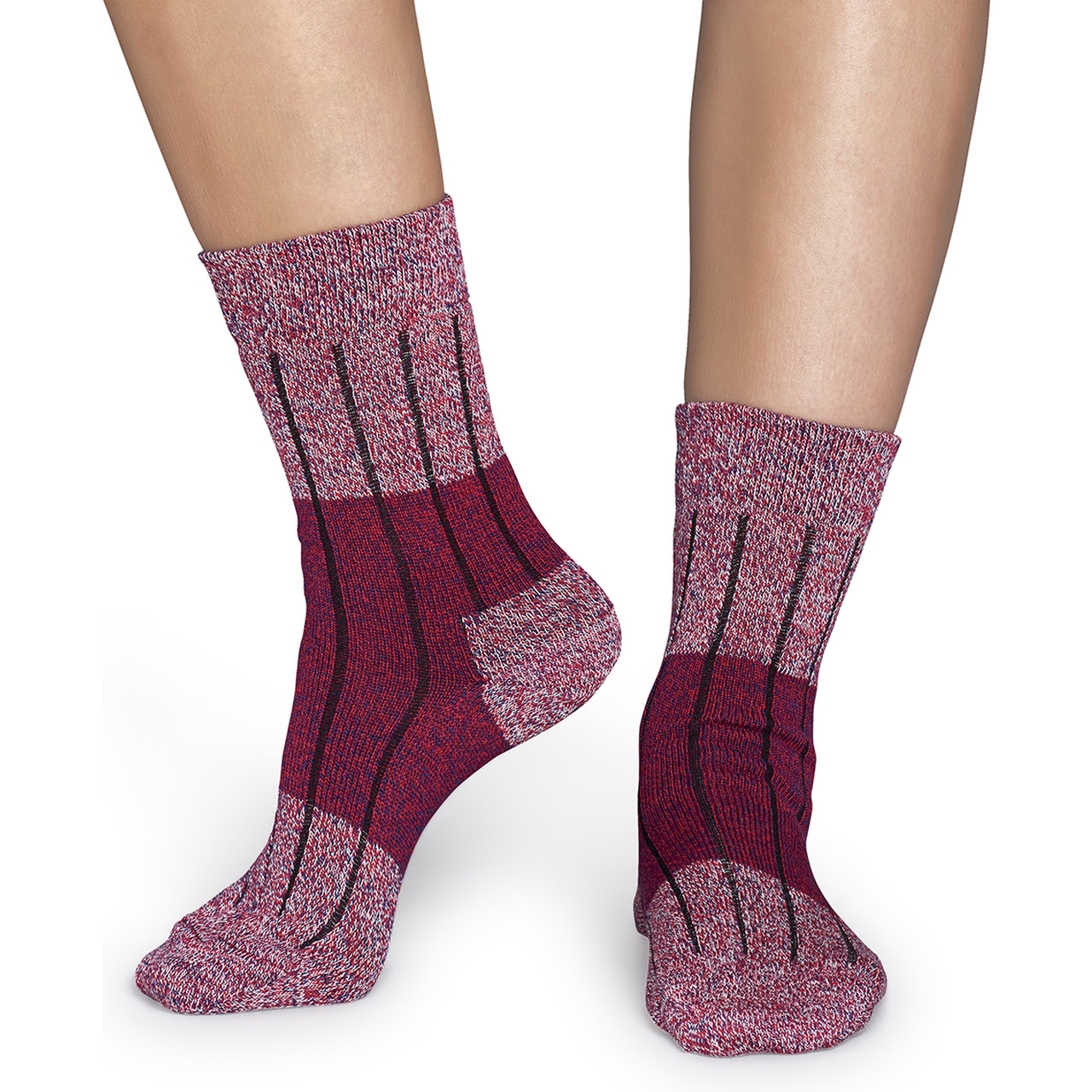 Skarpety Happy Socks  <br/><small>Wool Block Sock WB22-045 </small>  2806