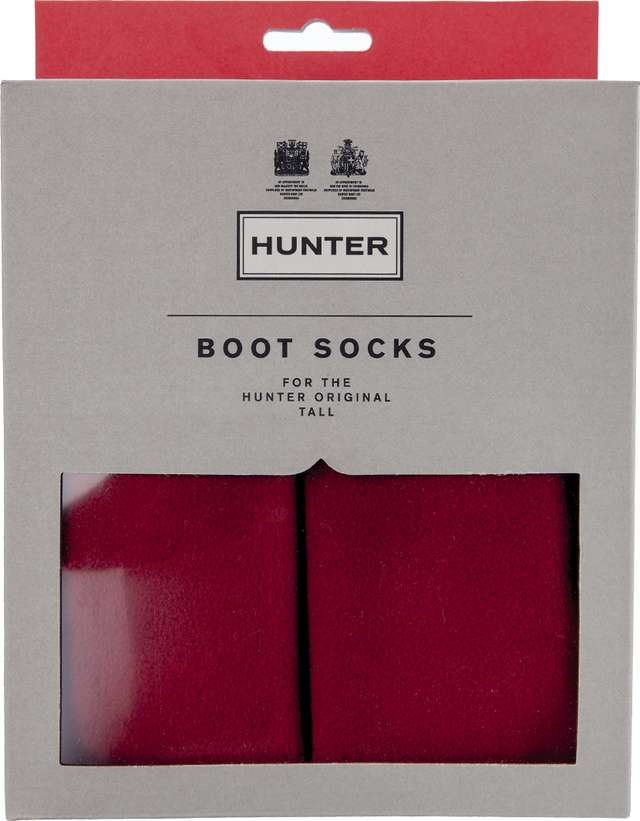 Hunter Boot Sock Military Red UAS3000AAA