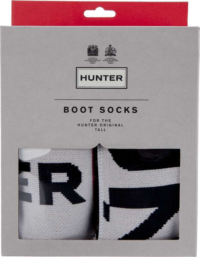 Hunter Boot Sock Exploded Logo UAS3090AAI