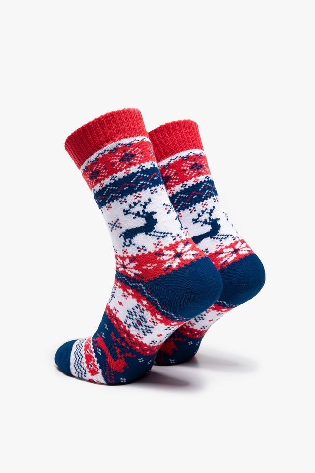 Blue/Red/White Warm Rudolph
