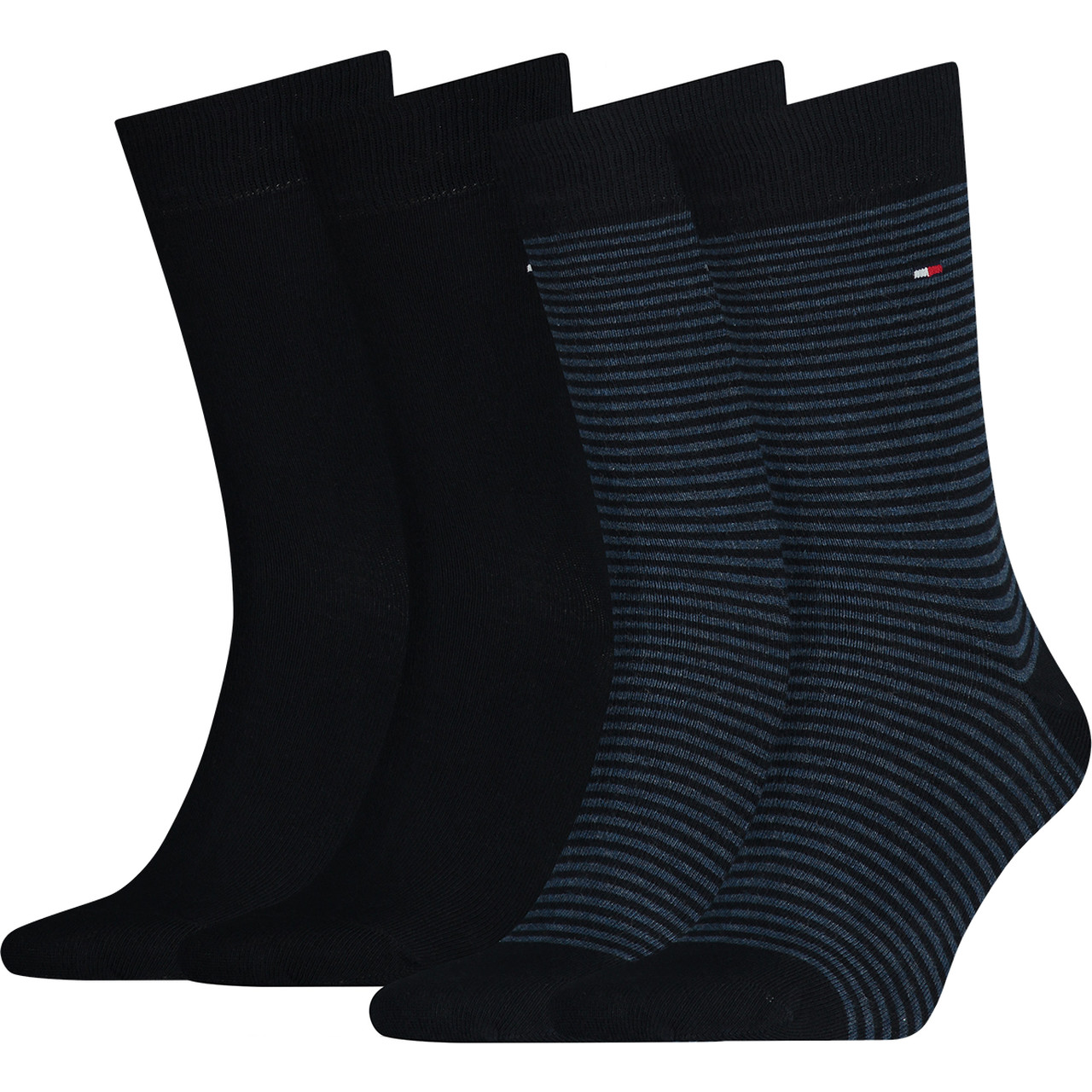 Skarpety 2Pack Tommy Hilfiger  <br/><small>Men Small Stripe Sock 322 </small>  342029001-322