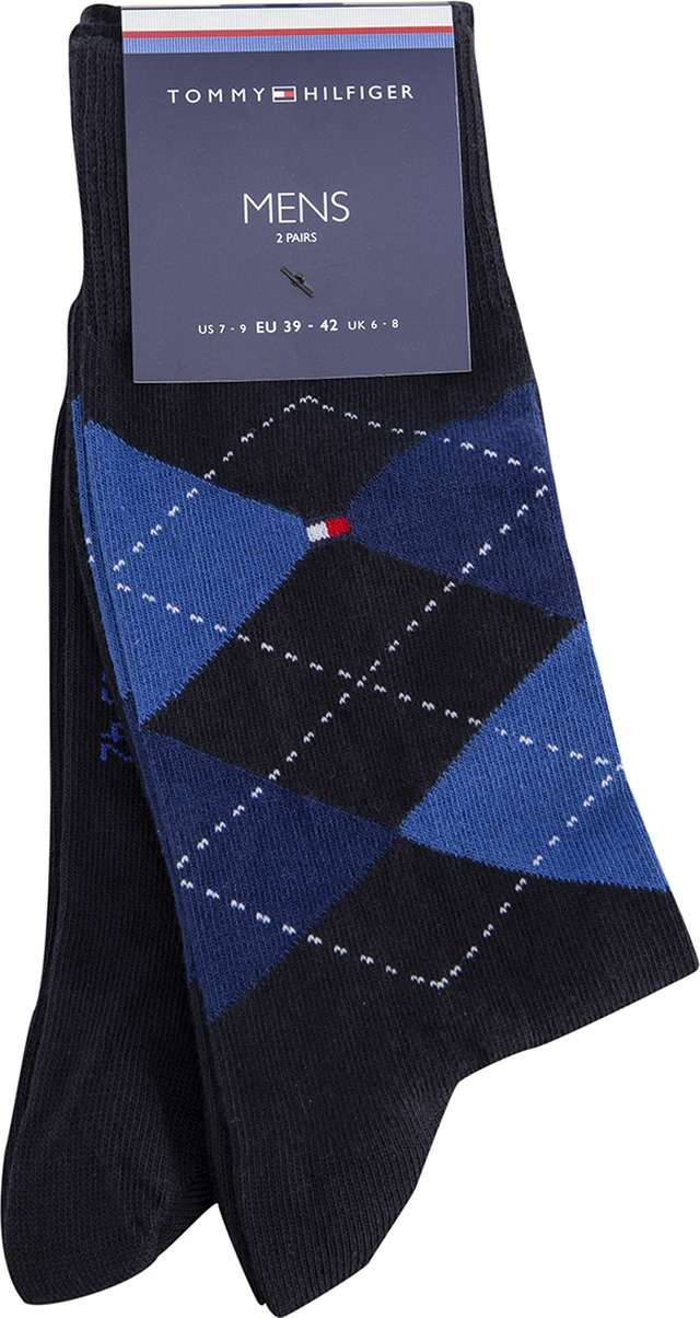 Tommy Hilfiger MEN SOCK CHECK 2P 054 391156-054