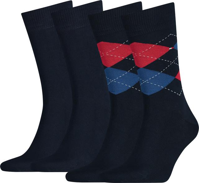 Tommy Hilfiger Men Sock Check 085 391156-085