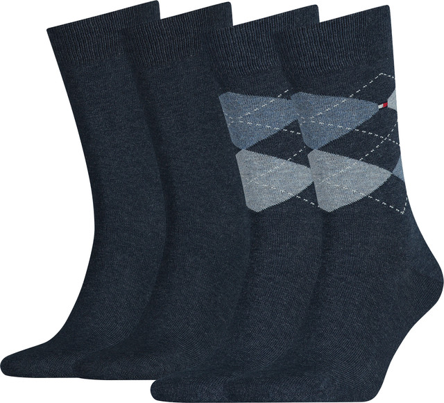 Tommy Hilfiger Men Sock Check 356 391156-356
