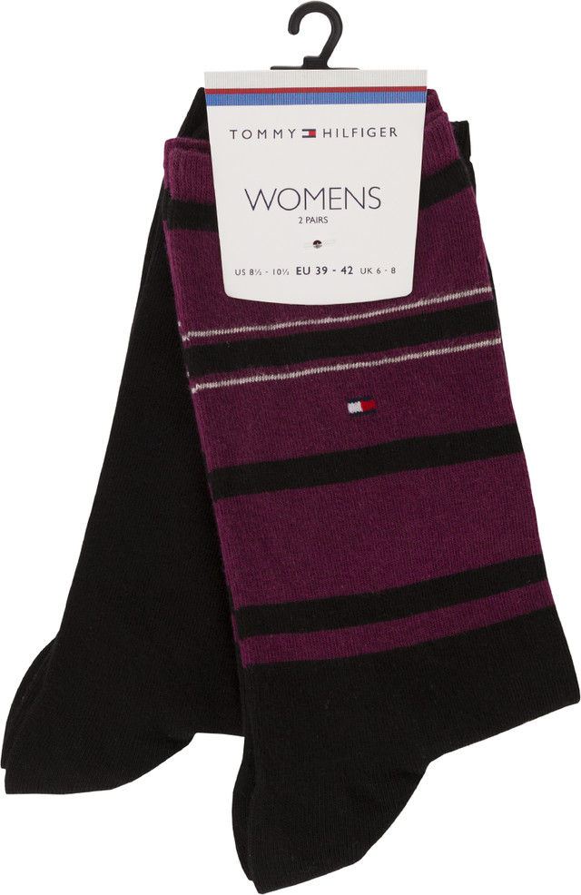 Tommy Hilfiger WOMEN ACCENT STRIPE SOCK 200 473002001-200