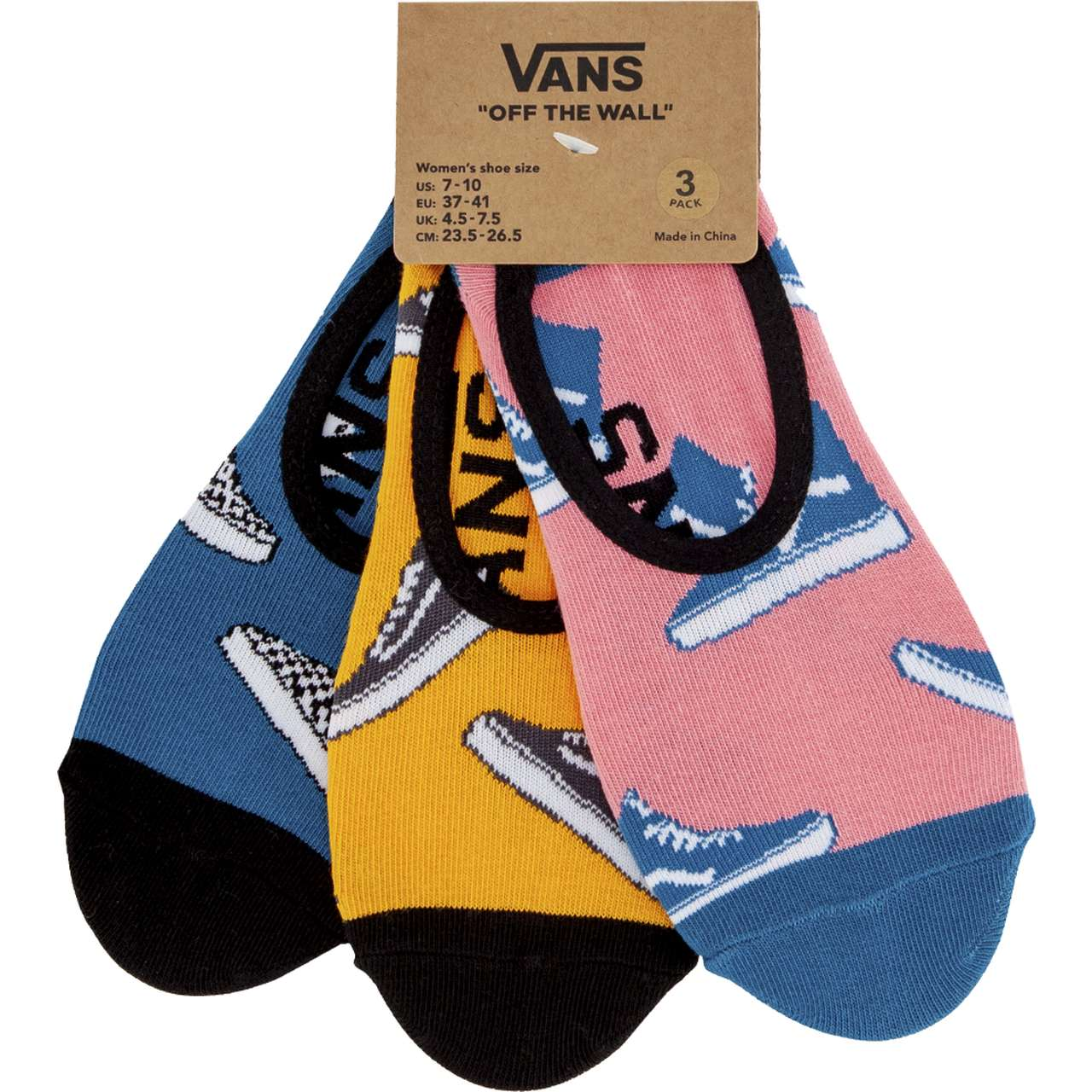 Skarpety 3Pack Vans  <br/><small>KICK BACK CANOODLES448 MULTI </small>  VN0A3UQX4481