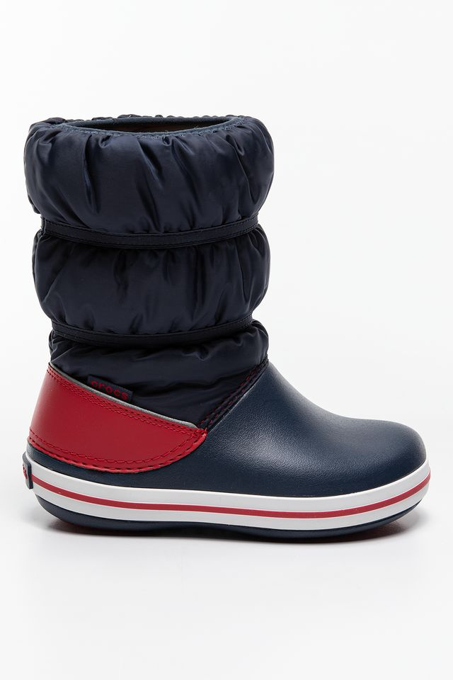 NAVY/RED CROCBAND WINTER BOOT KIDS 206550  206550-485