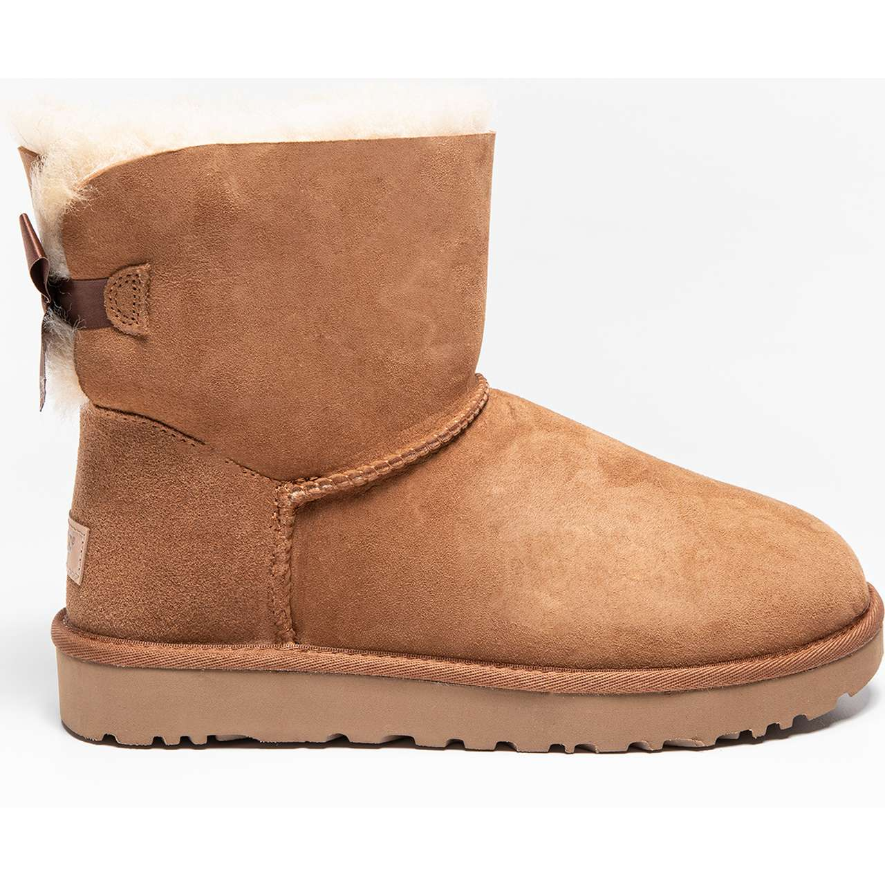 śniegowce UGG  <br/><small>MINI BAILEY BOW II CHESTNUT </small>  UGG-1016501/CHE