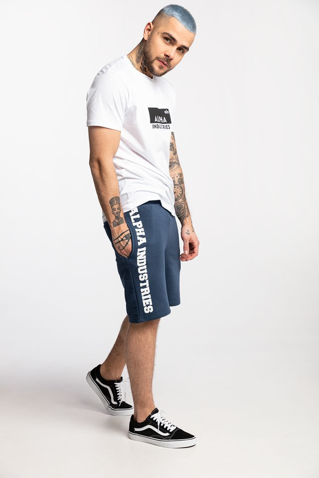 NEW NAVY BIG LETTERS SHORT 435
