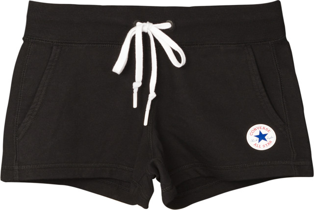 Converse CORE SHORT - FT A01 BLACK 10006746-A01