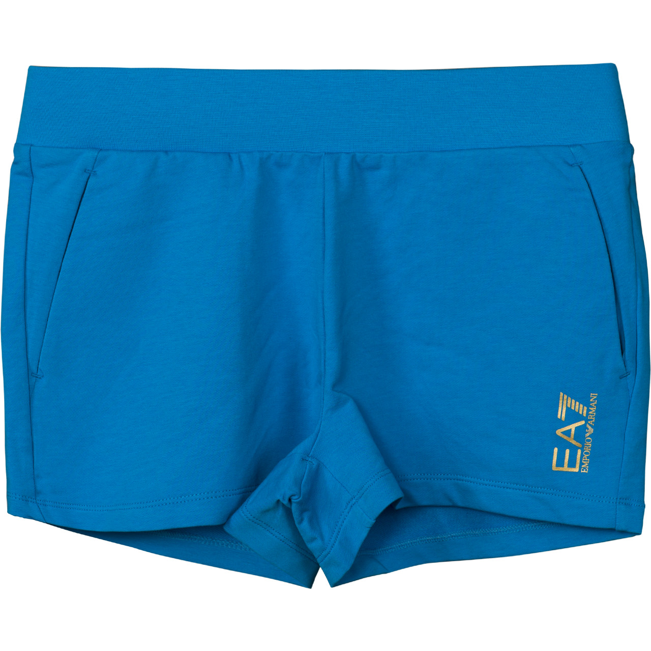 Spodenki EA7 Emporio Armani  <br/><small>TRAIN CORE LADY W SHORTS DRESDEN BLUE </small>  3ZTS58TJ31Z-1587