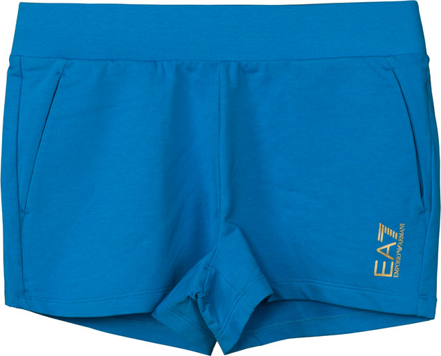 EA7 Emporio Armani TRAIN CORE LADY W SHORTS DRESDEN BLUE 3ZTS58TJ31Z-1587