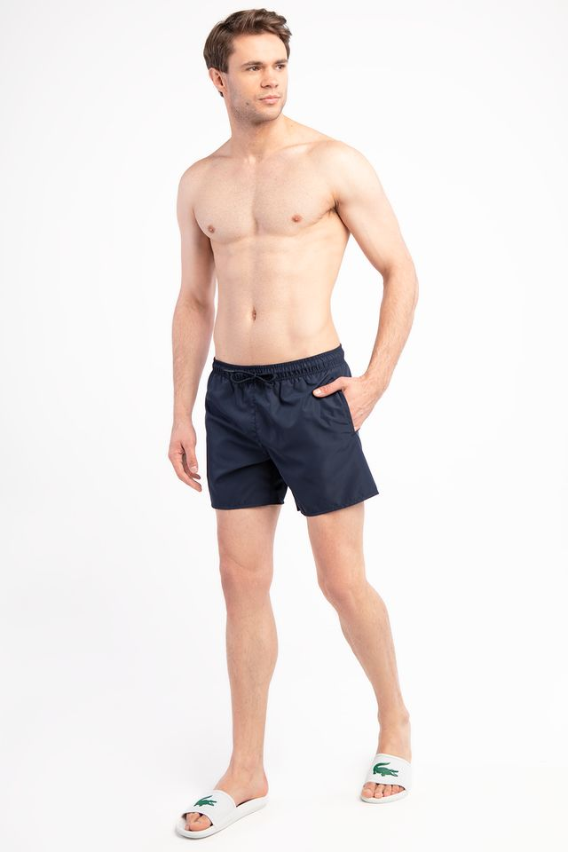 NAVY BLUE/BLACK LIGHT SWIM SHORTS JB1