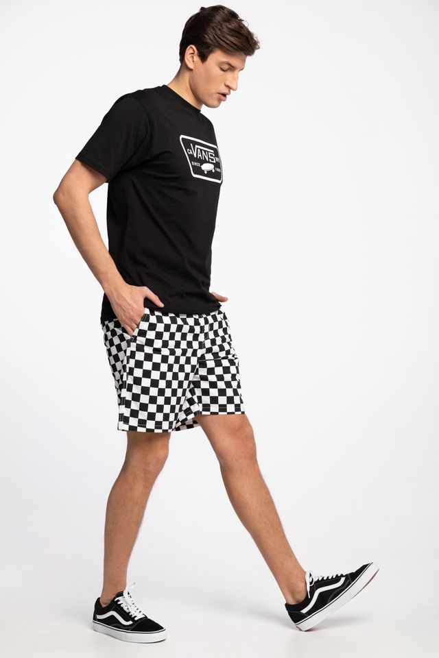 CHECKERBOARD SPODENKI MN RANGE SHORT 18 CHECKERBOARD VN0A3W4V7051