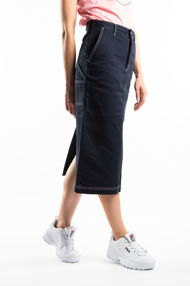 Carhartt WIP PIERCE SKIRT 1C01 DARK NAVY I026562-1C01