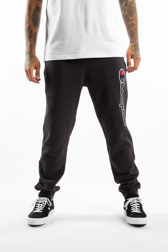 Champion RIB CUFF PANTS KK001 BLACK 213515-KK001