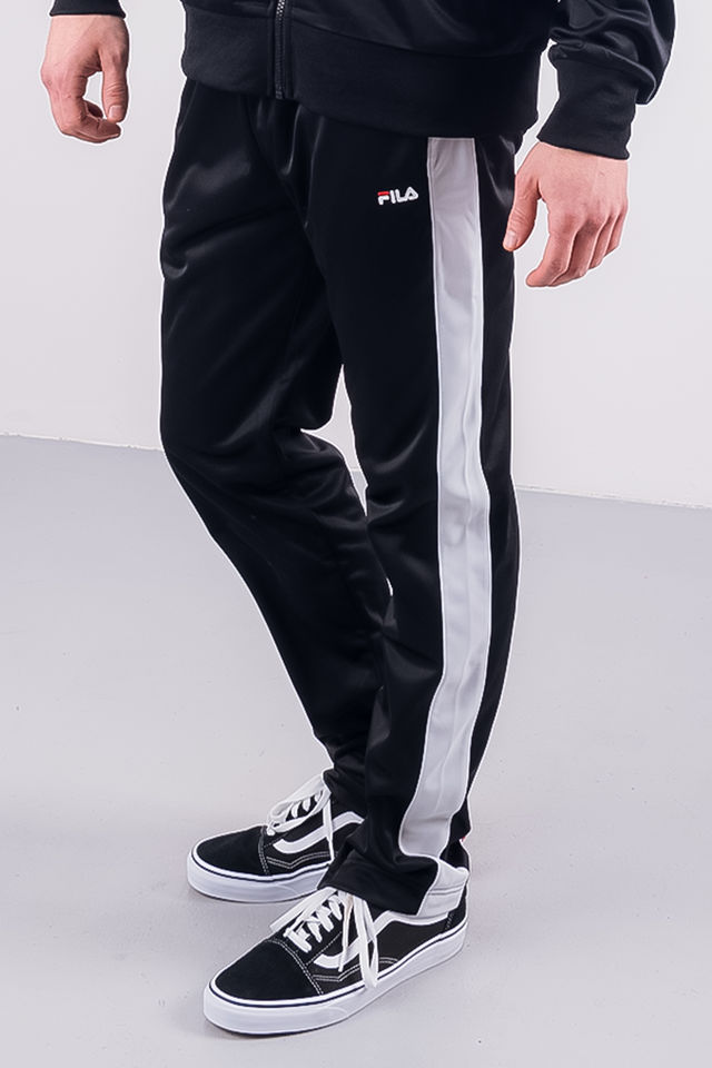 Fila MEN BELA TRACK PANT E09 BLACK/BRIGHT WHITE 687000-E09