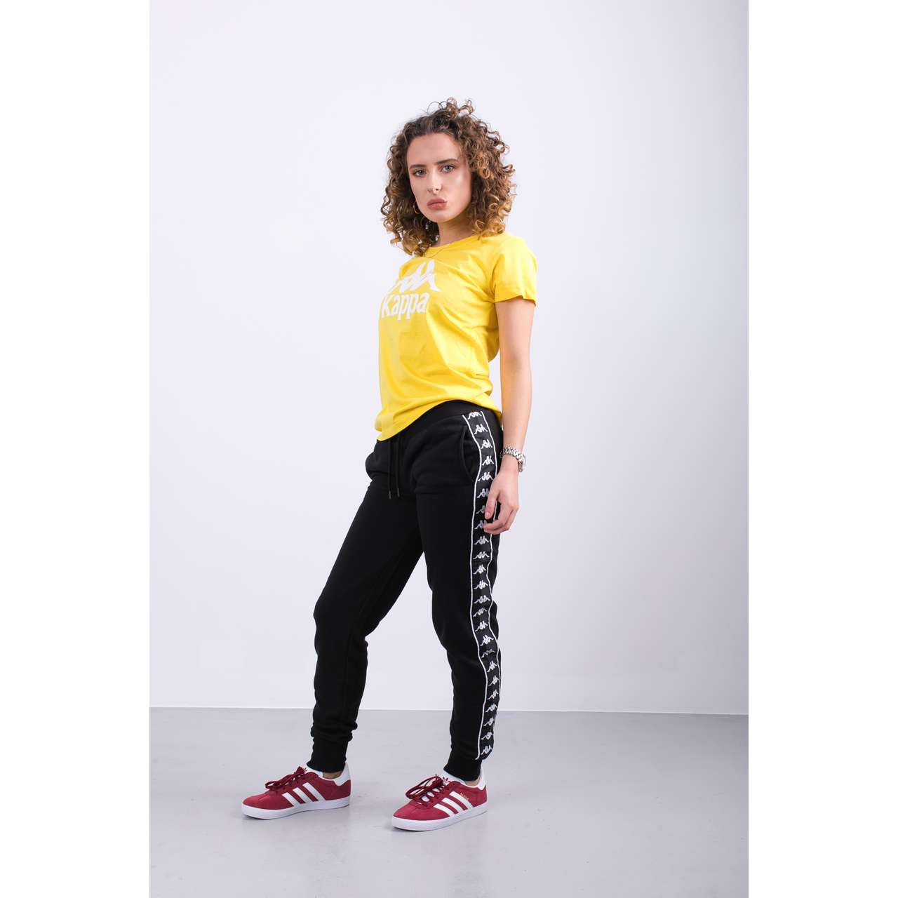 Spodnie Kappa  <br/><small>ESTHER PANTS 005 BLACK </small>  305036-005