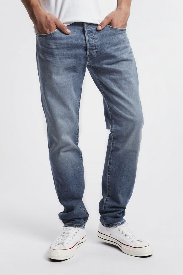 Levi's 501 SLIM TAPER JEANS 0179 IRONWOOD 28894-0179